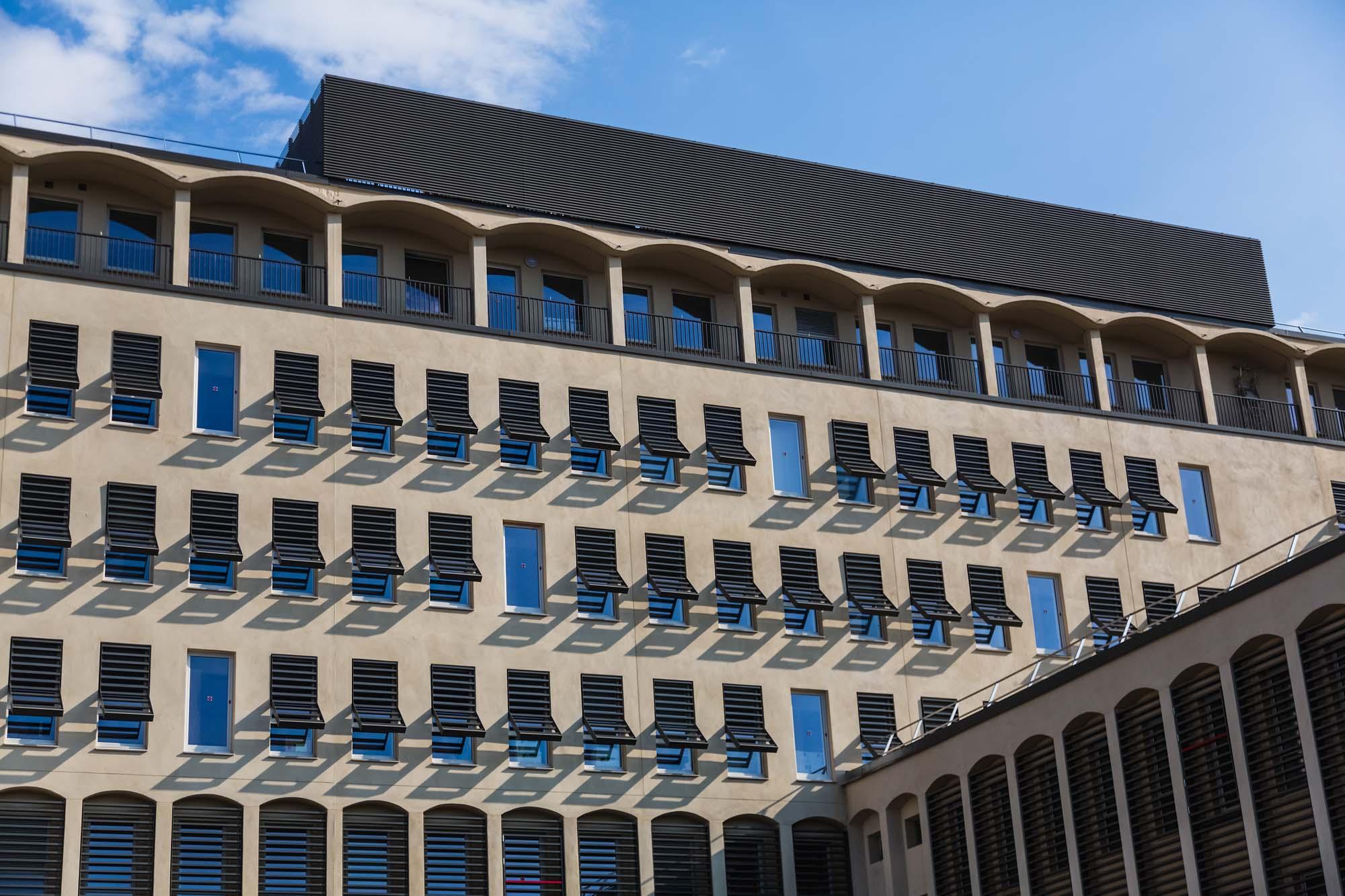 Eiffage – Faculté de Lettres – Aix en Provence